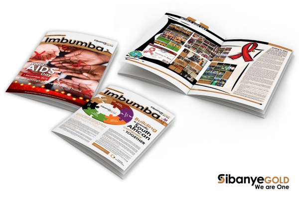 Corporate brochures and newsletters